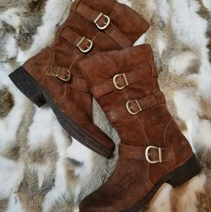 "Born ""Ivy"" Suede Boots Women's Size 7.5"